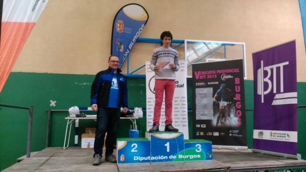 Participantes más Joven: Ruben Zaballa Garay