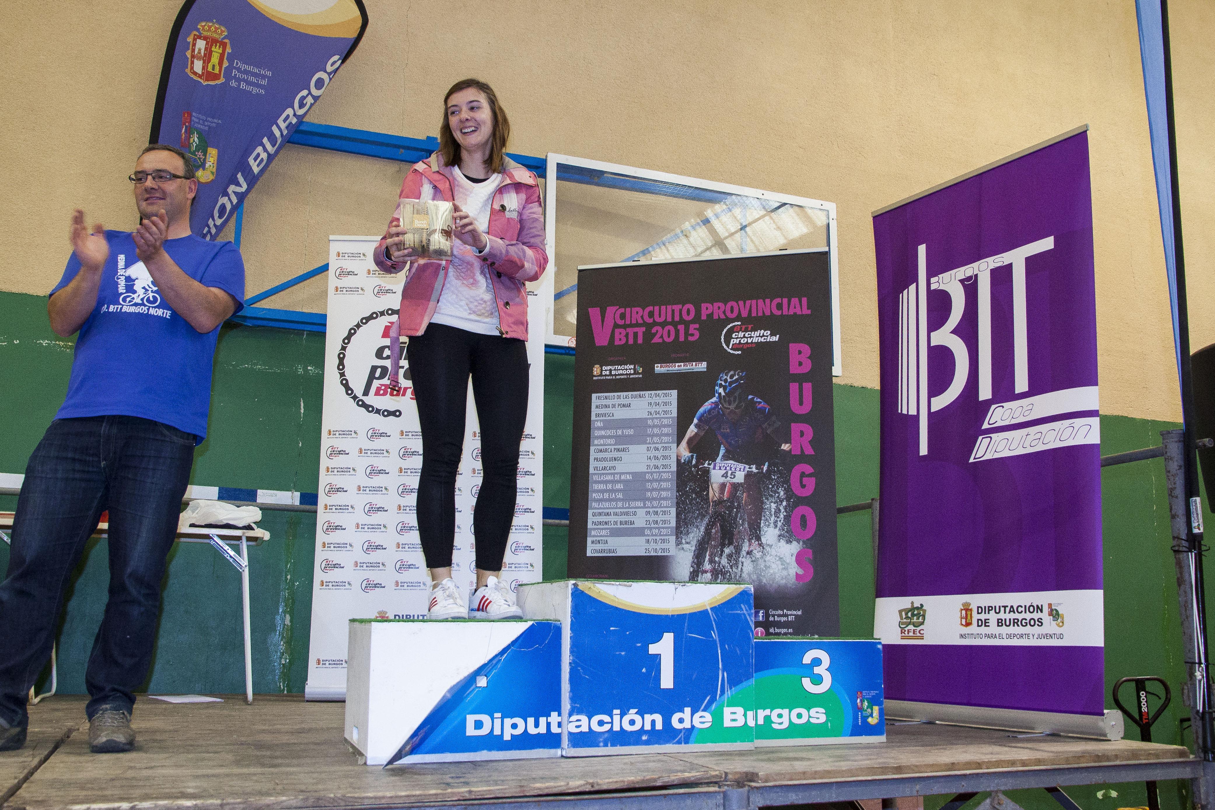 Entrega de premios marcha btt circuito provincial y sorteo for Muebles boom burgos